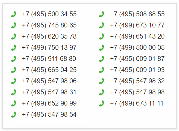 Список-официальных-сервисных-номеров-Сбербанка
