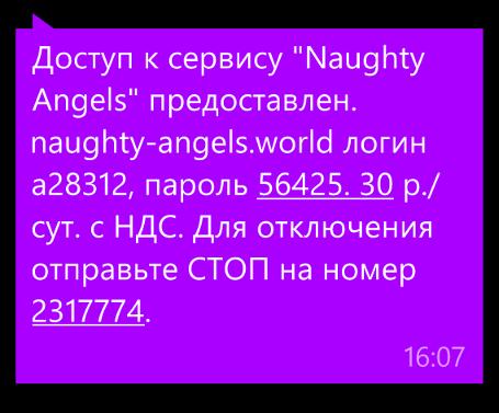 Оповещение-о-подписке-на-Naughty-Angels
